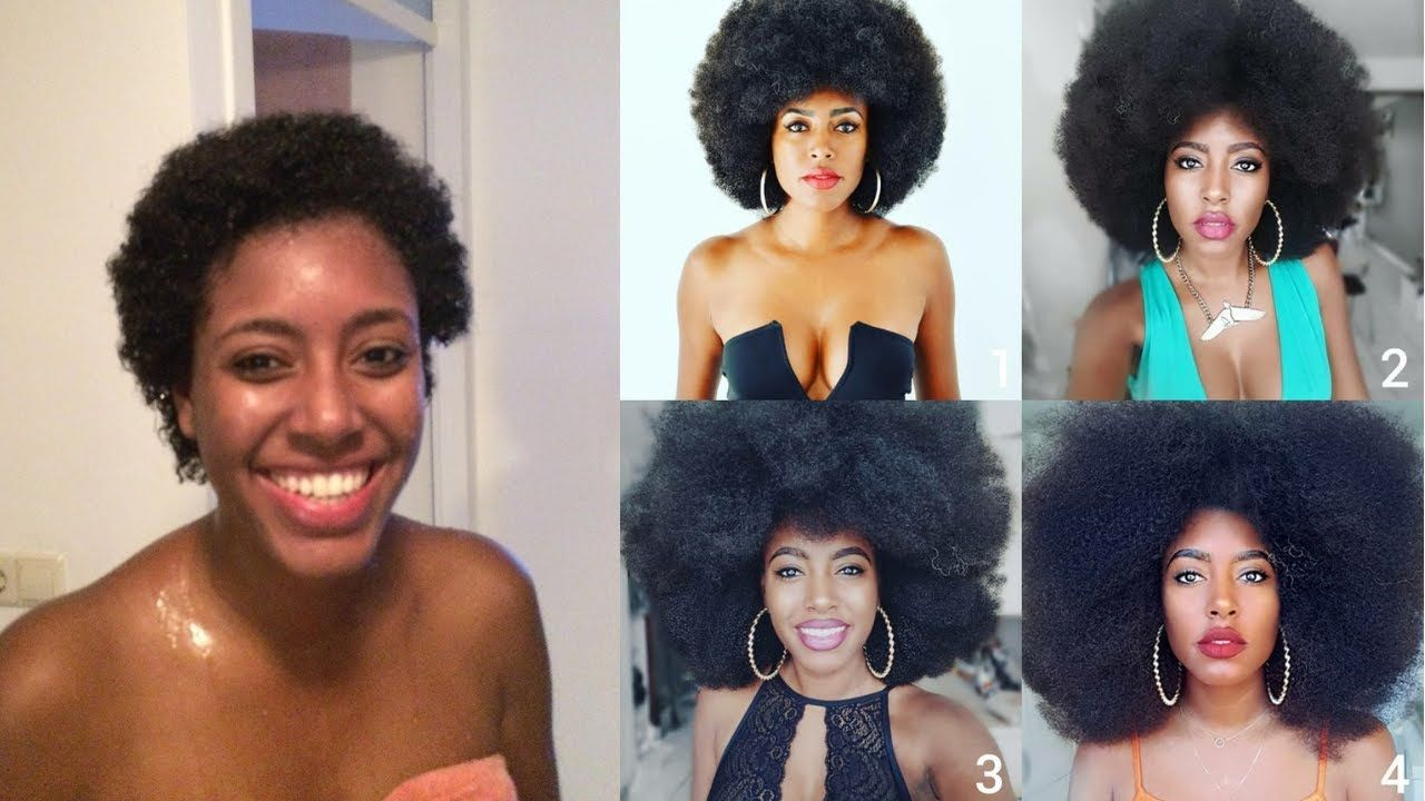 Natural Hair Journey from Beginning till Now- 5 years Natural