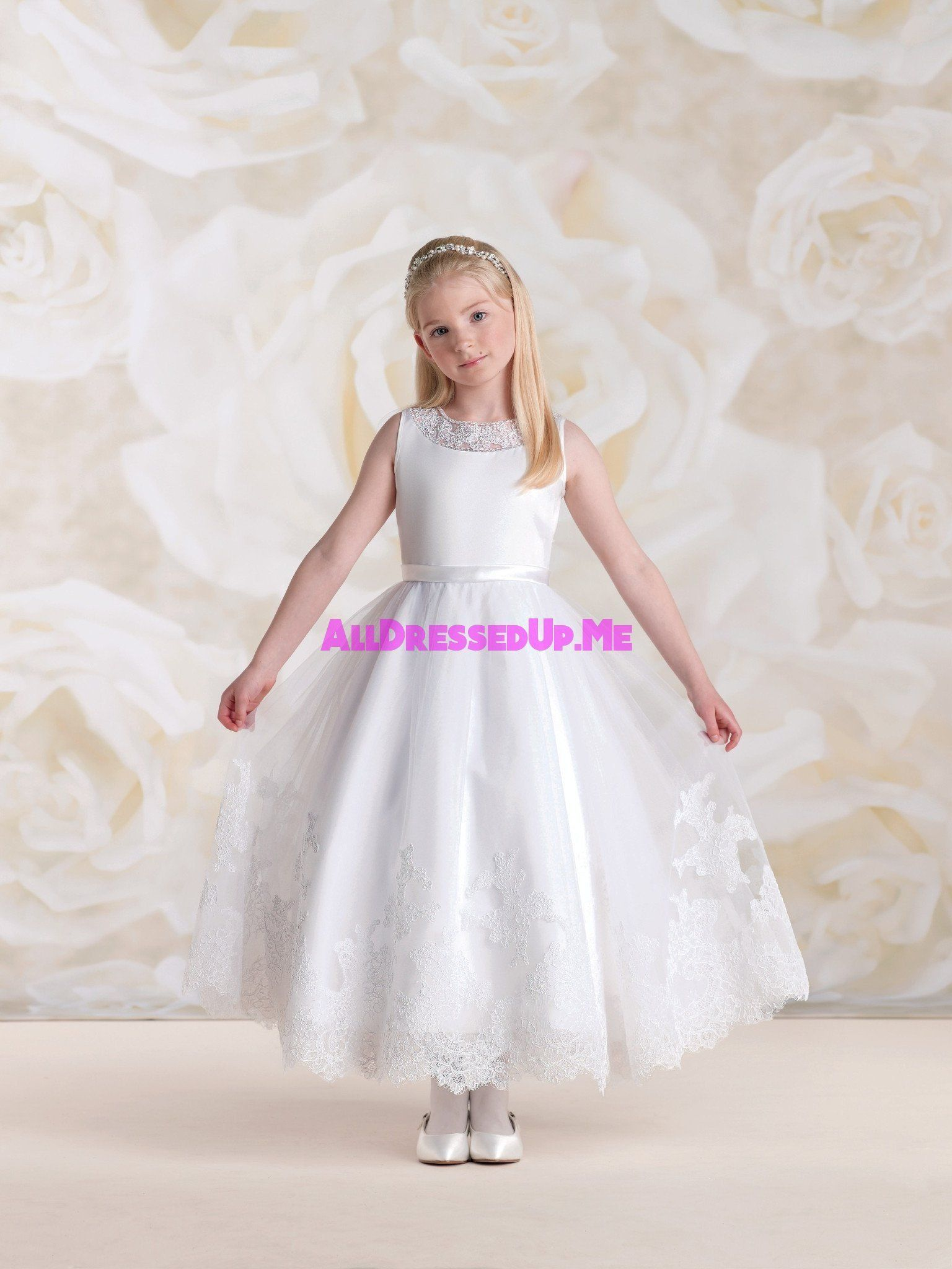 Joan calabrese all dressed up flower girl communion