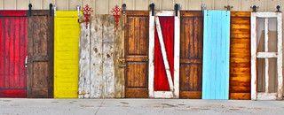 Barn Doors - modern - interior doors - salt lake city - by Rustica Hardware