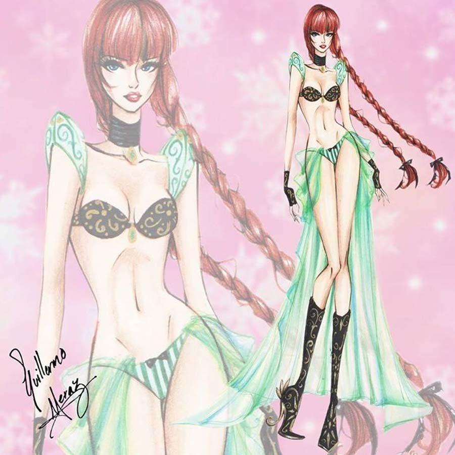 Princesas Disney como modelos da Victoria's Secret | Just Lia