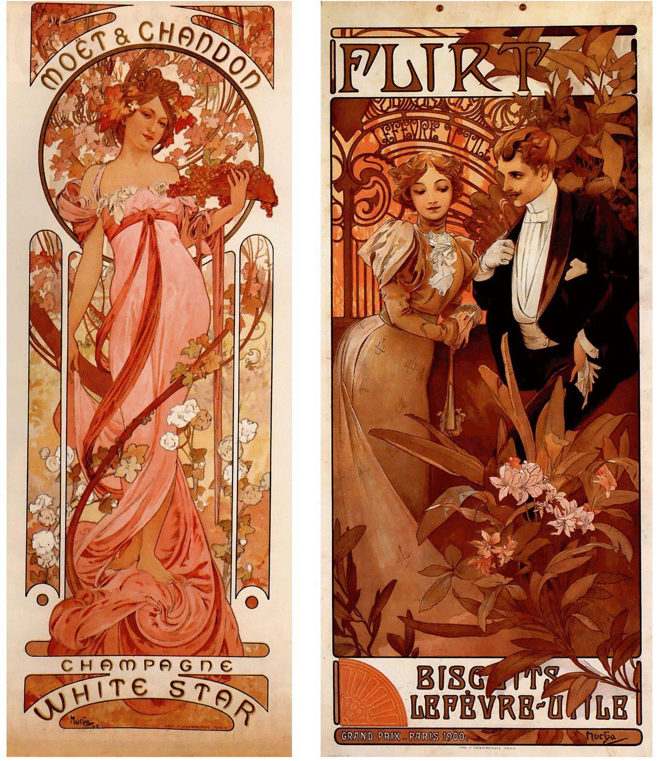 Partage de art nouveau modern style