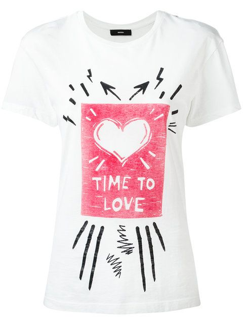 DIESEL Time To Love T-Shirt. #diesel #cloth #t-shirt