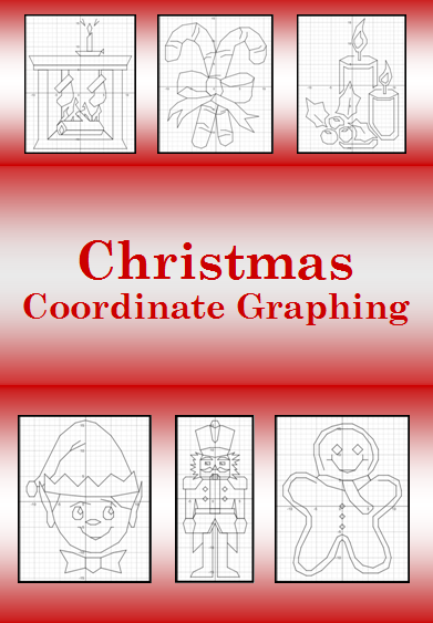 Celebrate Christmas with these Coordinate Graphing