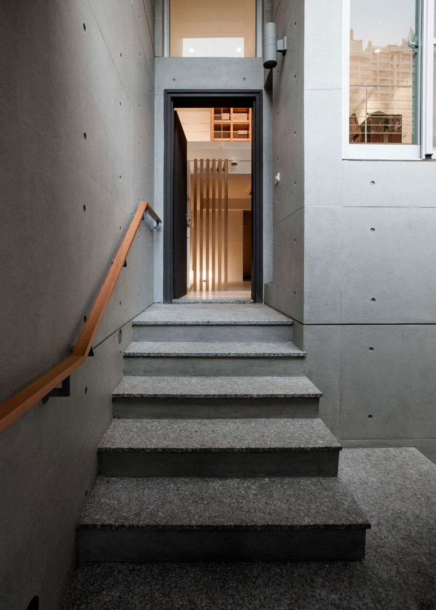 Casa de lee por pmd 6 contemporary interior taiwan staircases entrance
