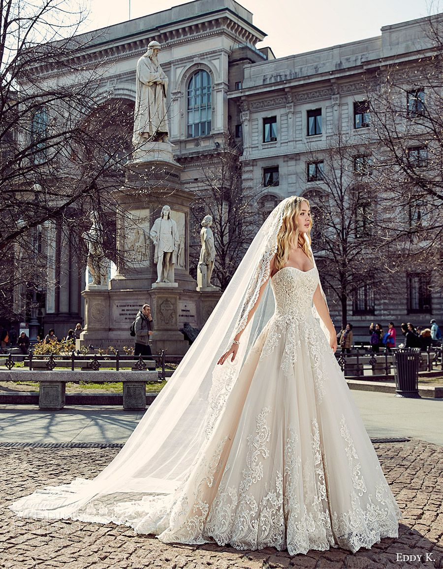 Eddy K. 2017 Wedding Dresses — Milano Bridal Collection ...
