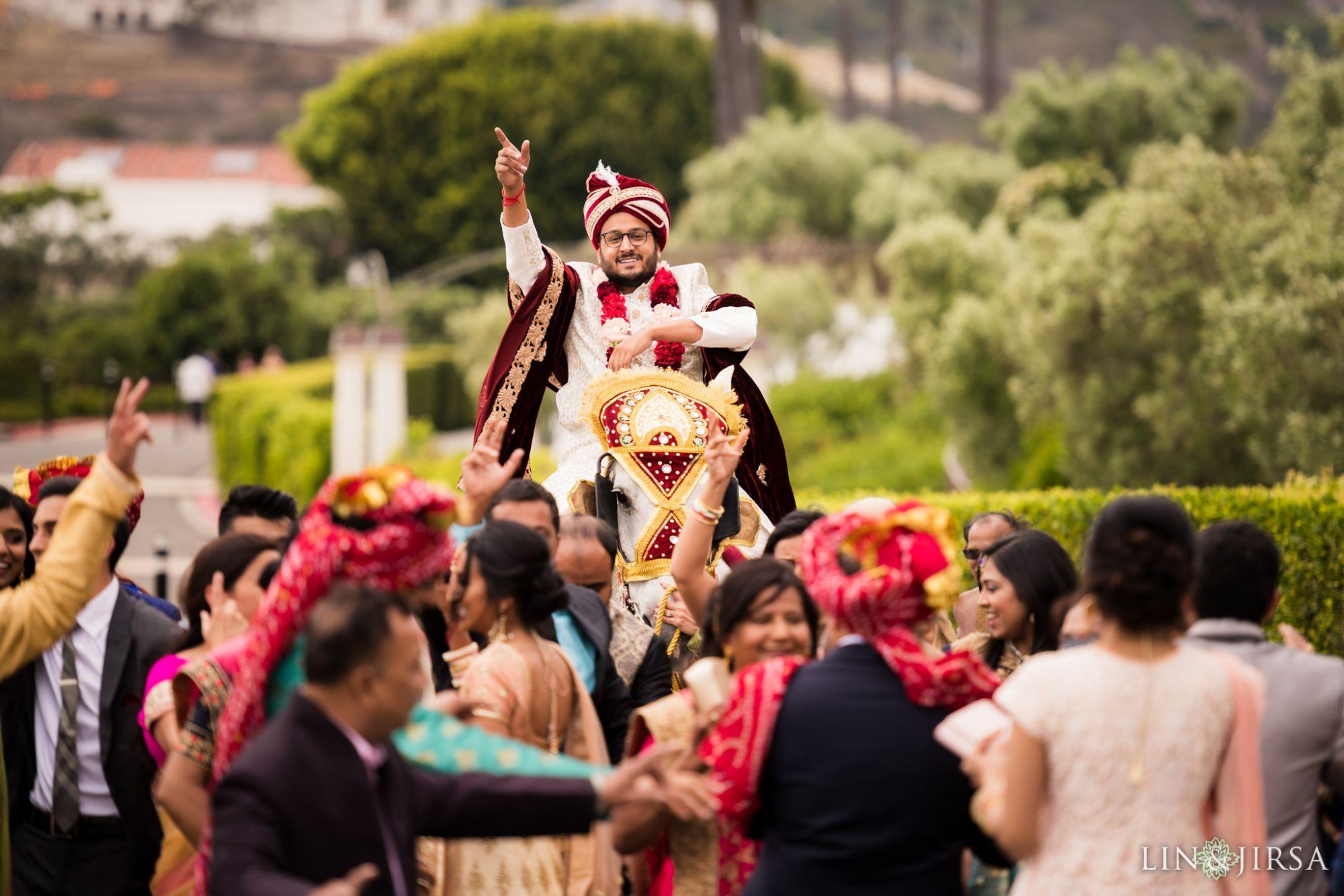 04 Monarch Beach Resort Dana Point Indian Baraat Wedding Photography Wedding Ceremony Traditions Wedding Procession Indian Wedding