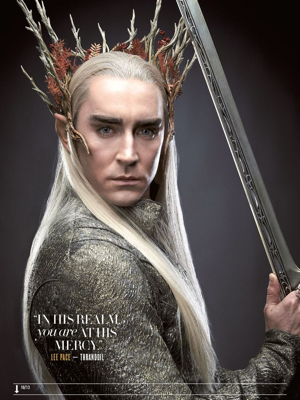 2019 year look- Desolation Thranduil of smaug armor pictures