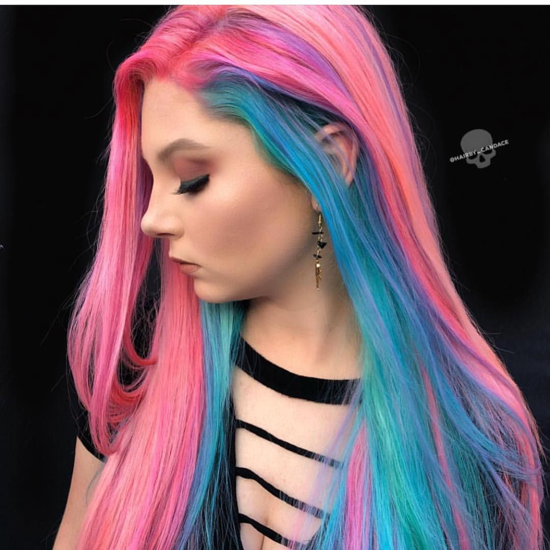 Hairbycandace is the artist pulp riot is the paint hair