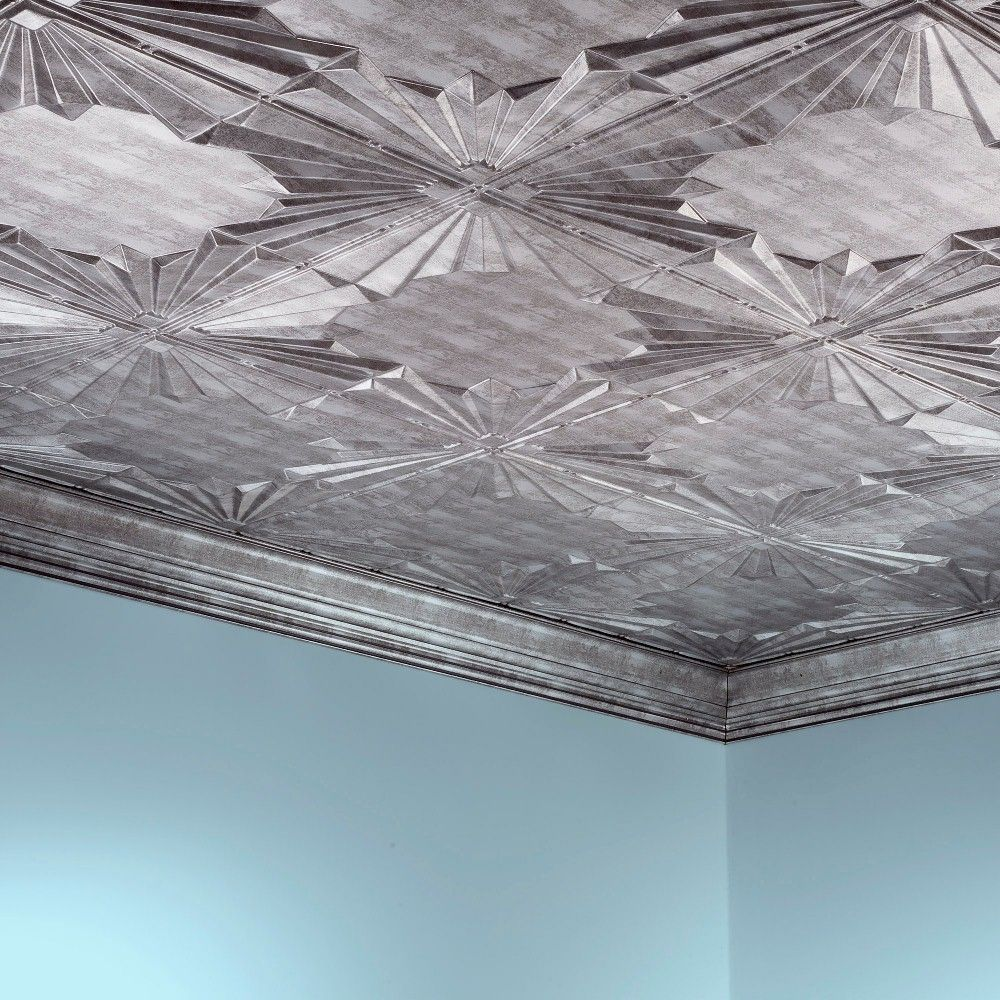 faux tiles silver style decor for cool ceiling your tin cheap marvelous pressed