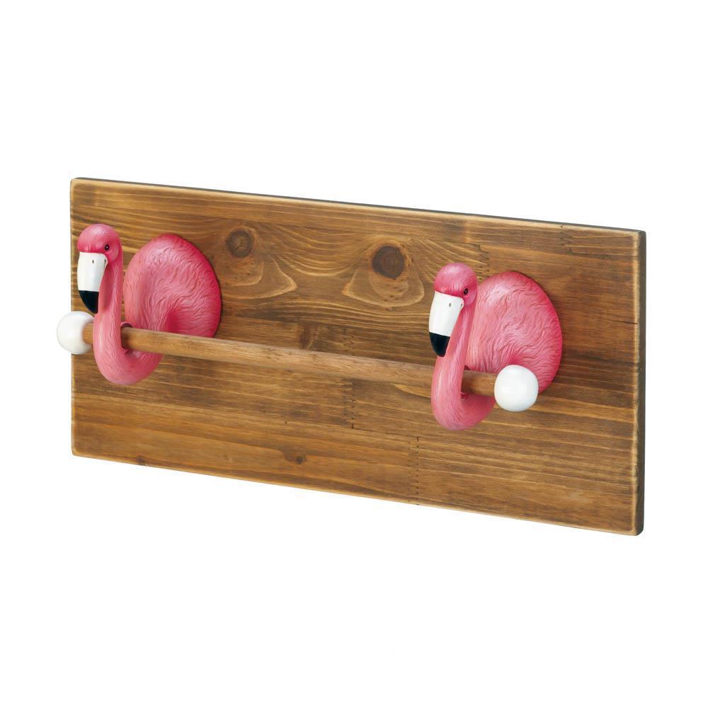 Flamingo towel holder | Flamingos | Pinterest | Plank hold, Tropical ...