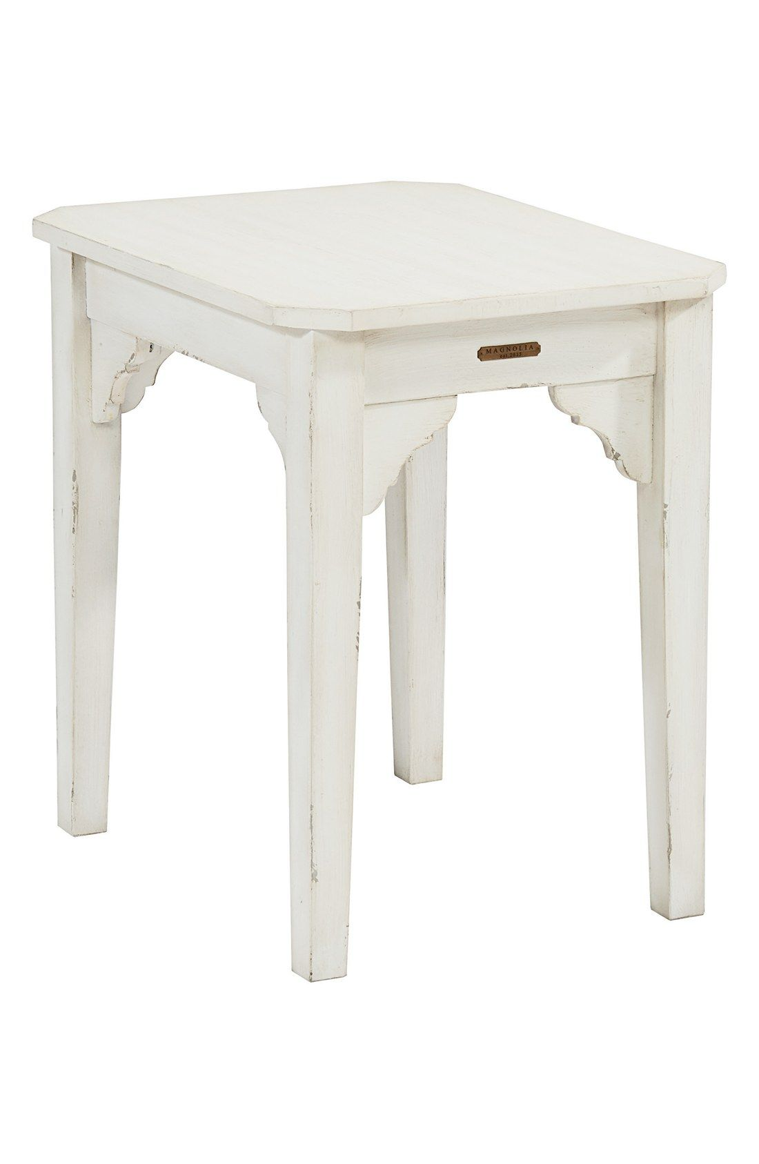 Free Shipping And Returns On Magnolia Home Farmhouse End Table At Nordstrom.com.  A