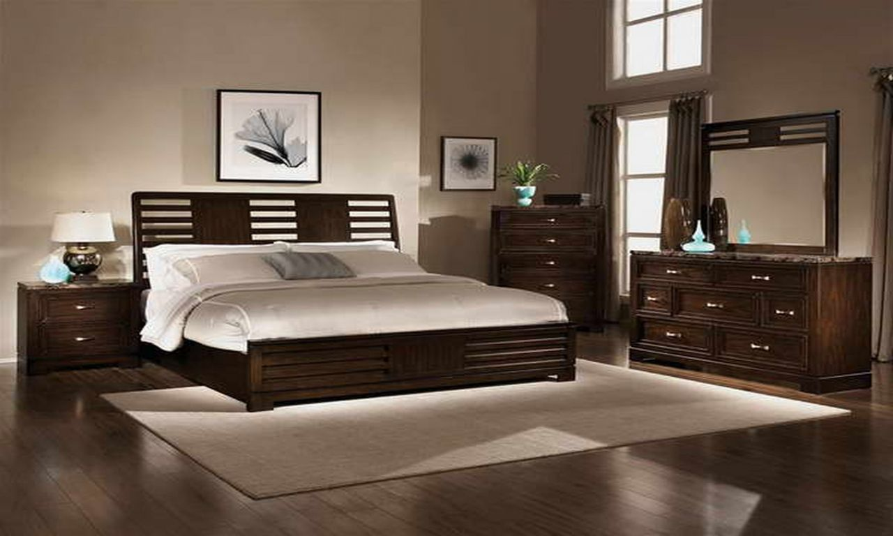 Image result for bedroom paint color for dark furniture new