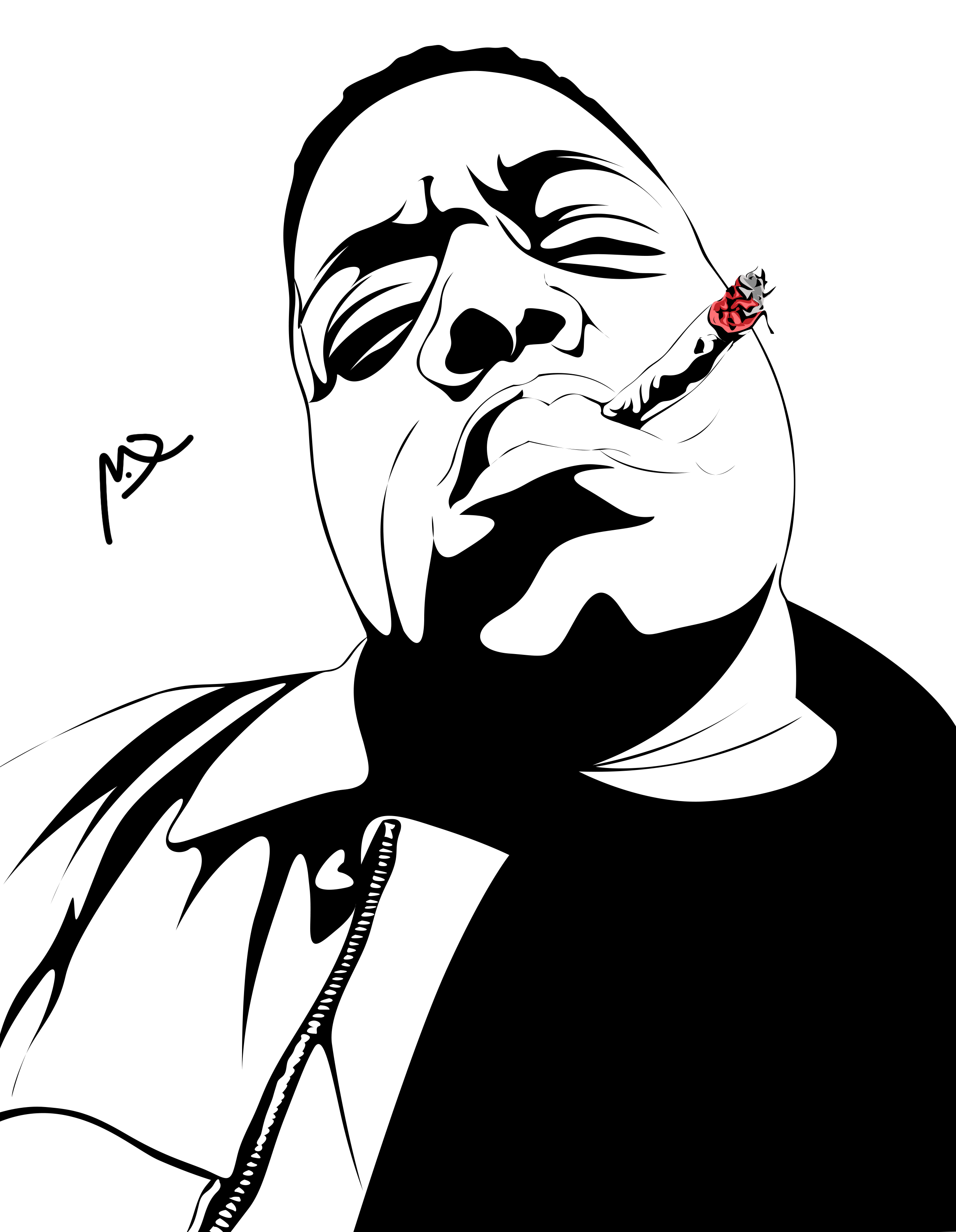 Notorious Big Sketches Notorious Big Fictional Characters