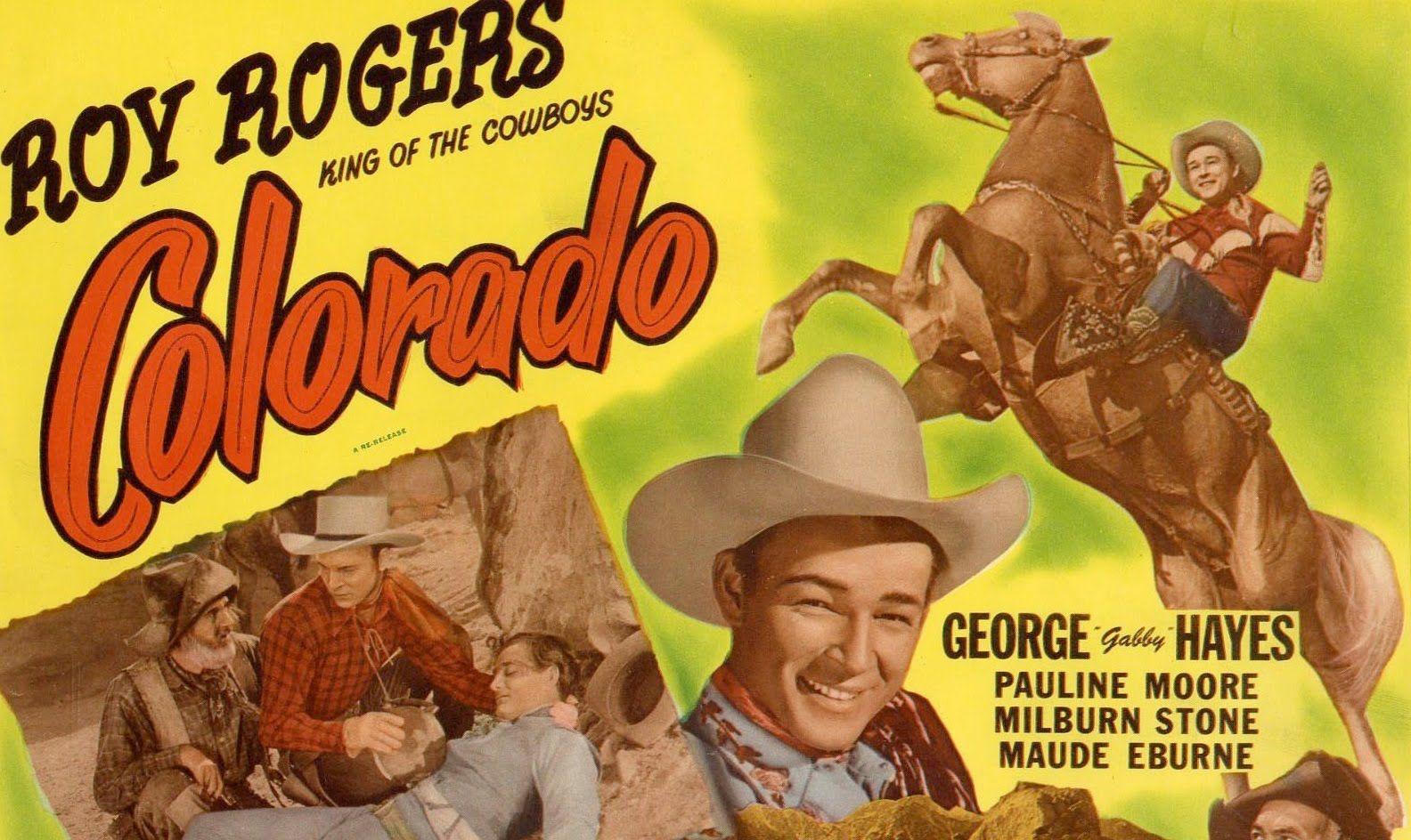 Colorado full length roy rogers western movies western