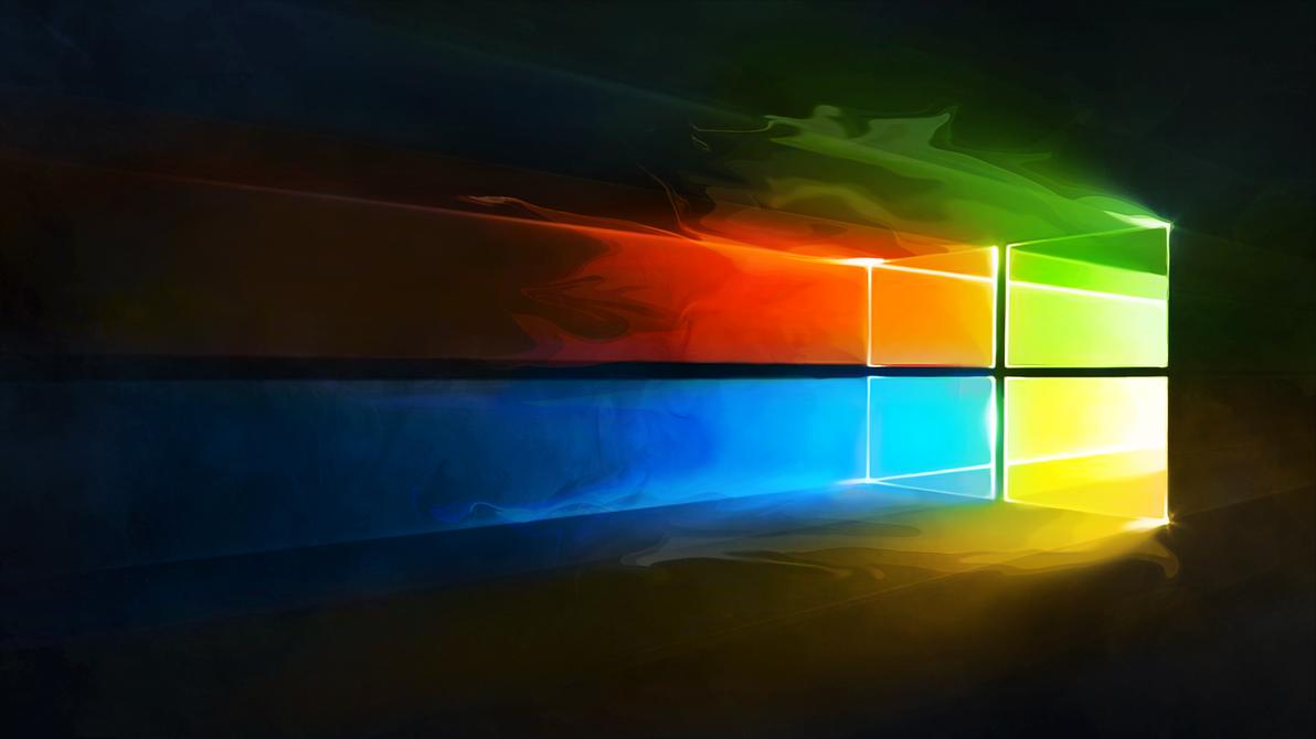 Windows 10 Liquify Colour Logo Wallpaper By Iamjcat On Deviantart Wallpaper Windows 10 Desktop Wallpaper Art Wallpaper Earth