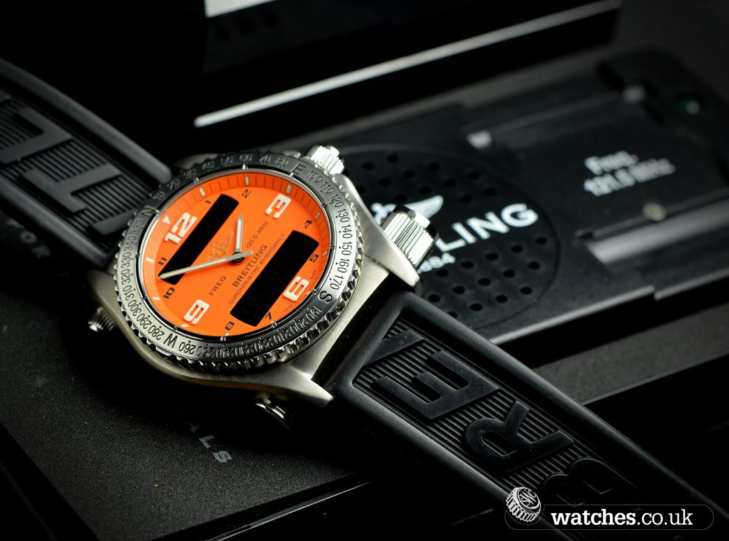 Breitling Emergency Watch - E76321 - We buy and sell Breitling ...