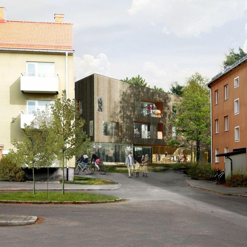Majelden residential care facility in Linköping, Sweden