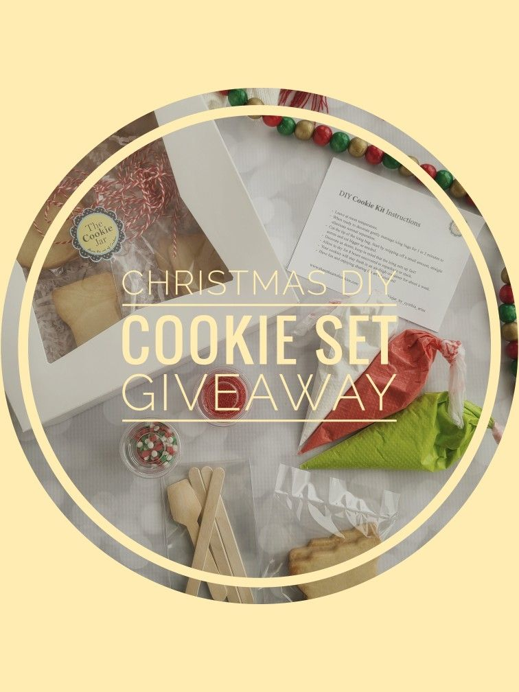 Don T Miss Our Giveaway In 2020 Christmas Jars Cookie Kit Diy Cookie