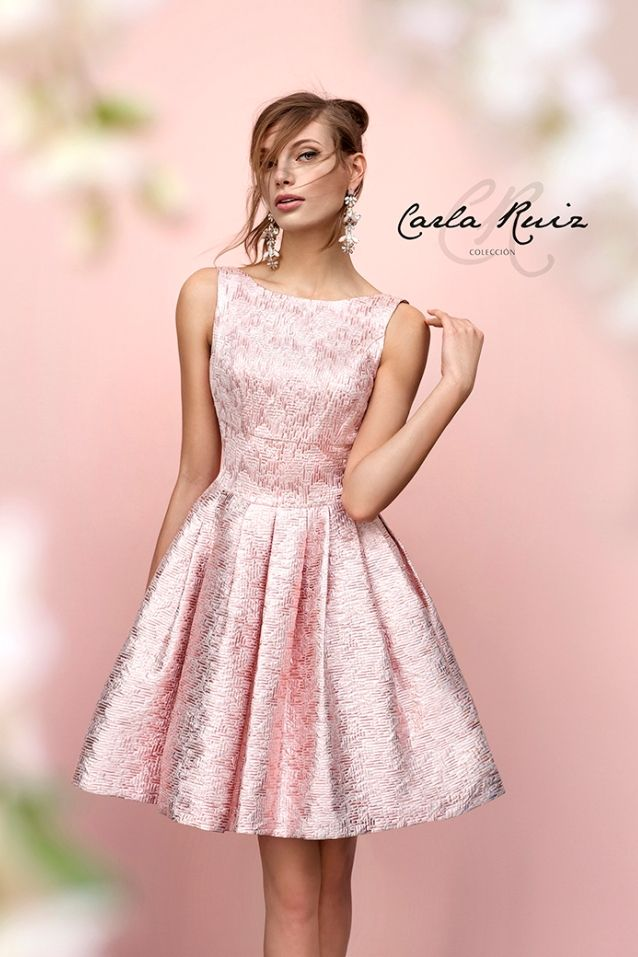 Vestido corto modelo Evasse 92718 Carla Ruiz by Carla Ruiz ...