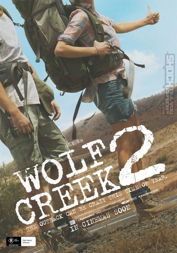 Wolf Creek 2 Wolf, Poster, Libros