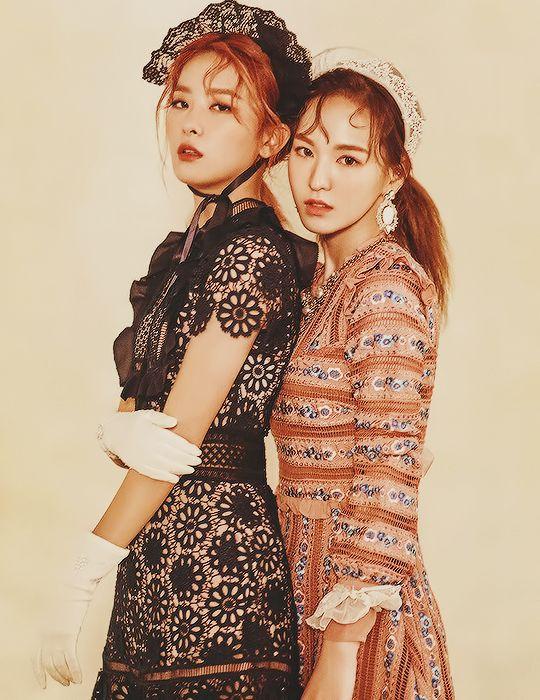 BTS v e velluto rosso Irene dating