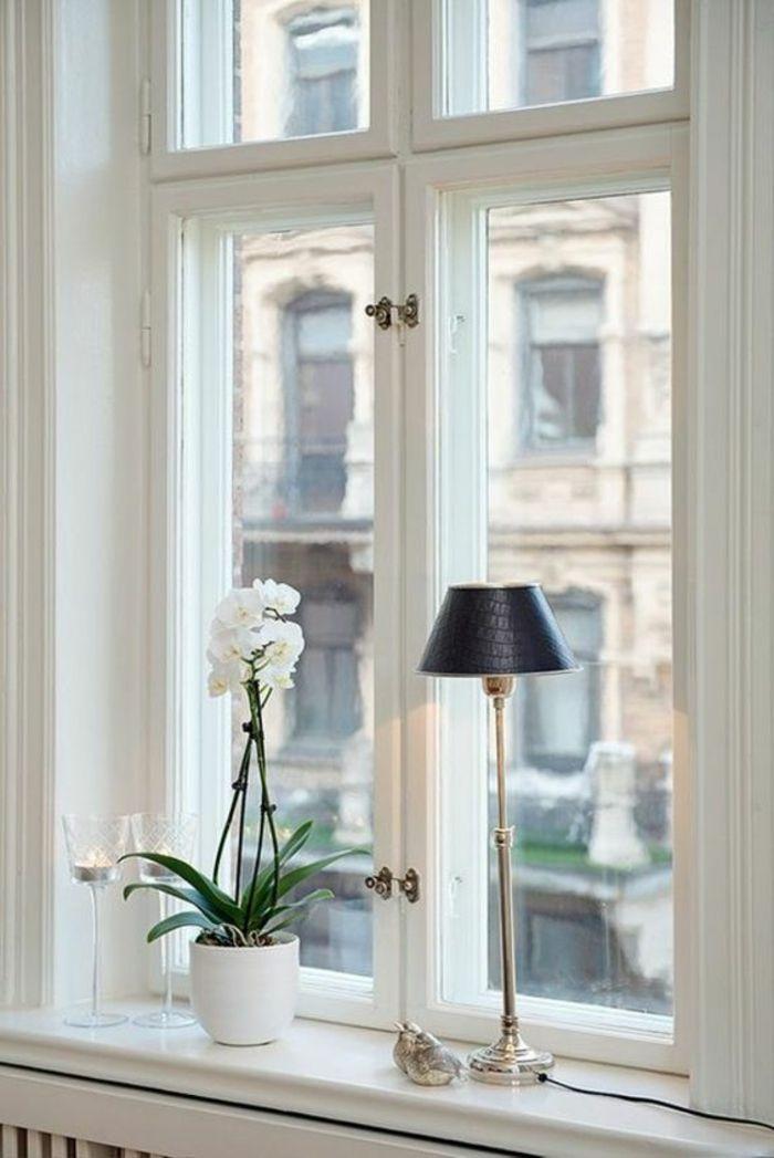 1001 tolle ideen f r fensterdeko mit fensterbank lampen einmalige fensterdeko zum erstaunen - Dekotipps schlafzimmer ...