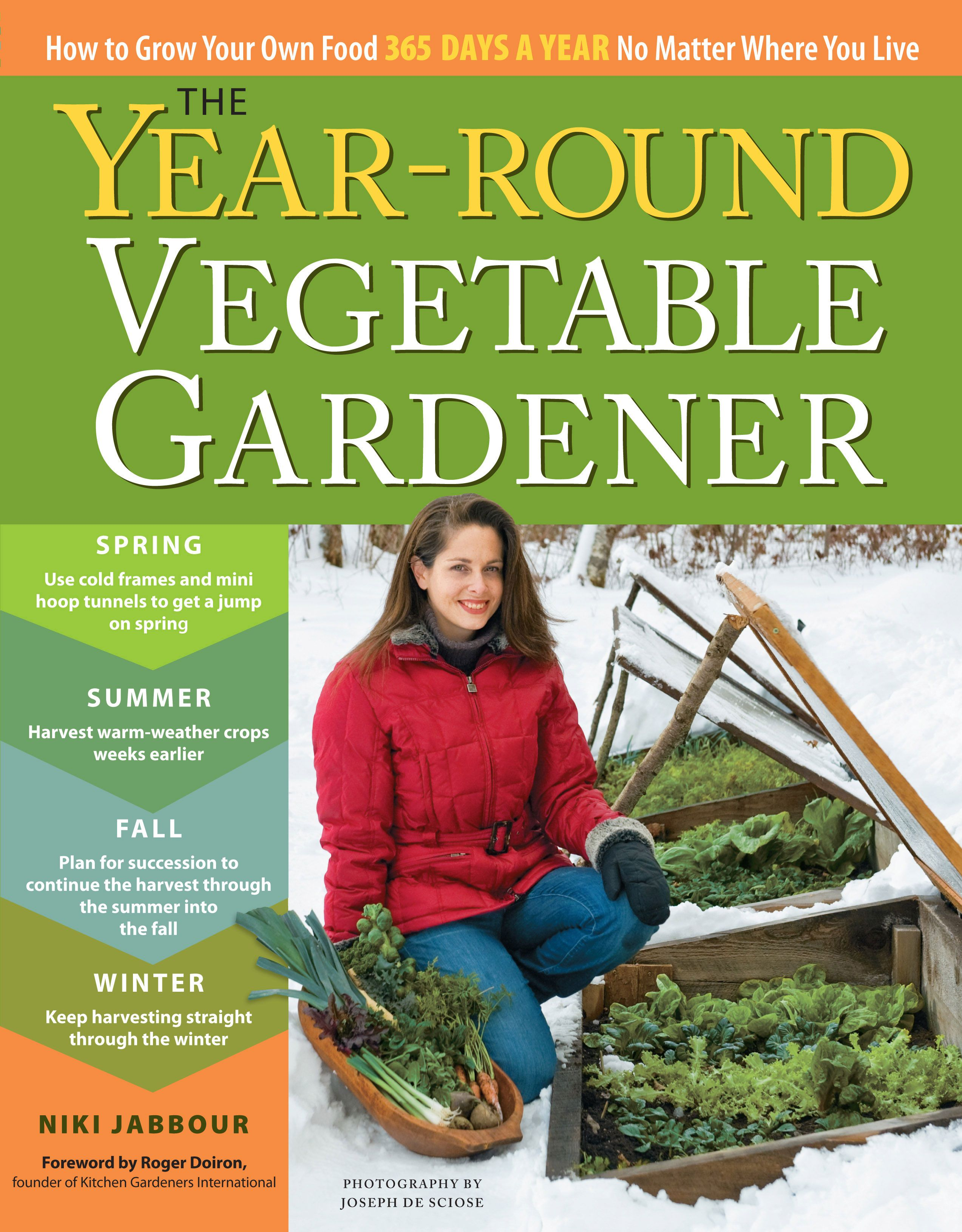 growing vegetables through the seasons with succession planting
