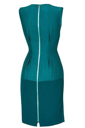 ROKSANDA ILINCIC Petrol Wool-Crepe Dress  910 €