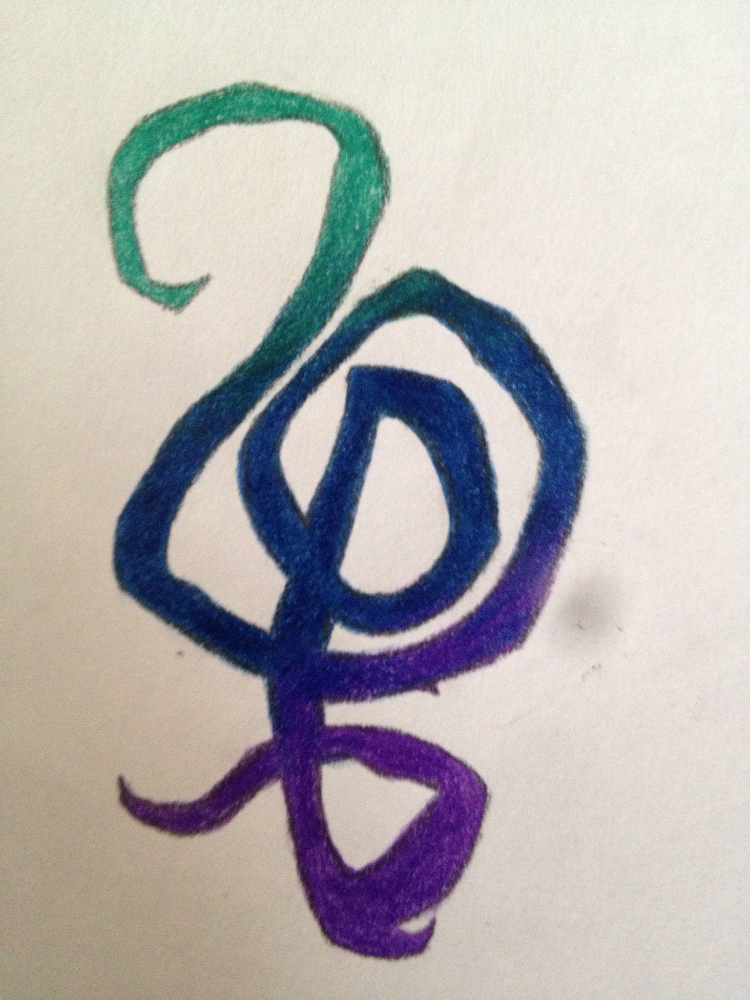 Hakuna matata symbol tattoo drawn by my daughter ink pinterest hakuna matata symbol tattoo drawn by my daughter buycottarizona Images