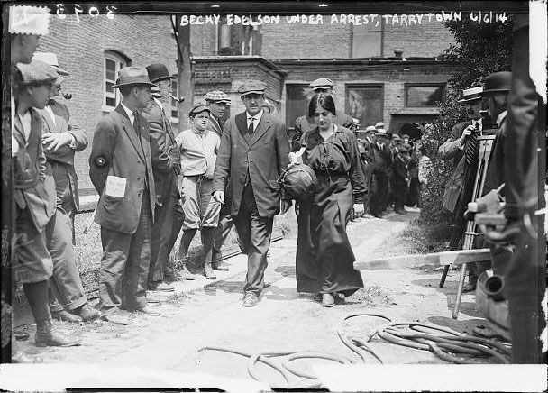 ludlow colorado 1914 -   Under arrest for protest against Ludlow slaughter   (Trinidad )