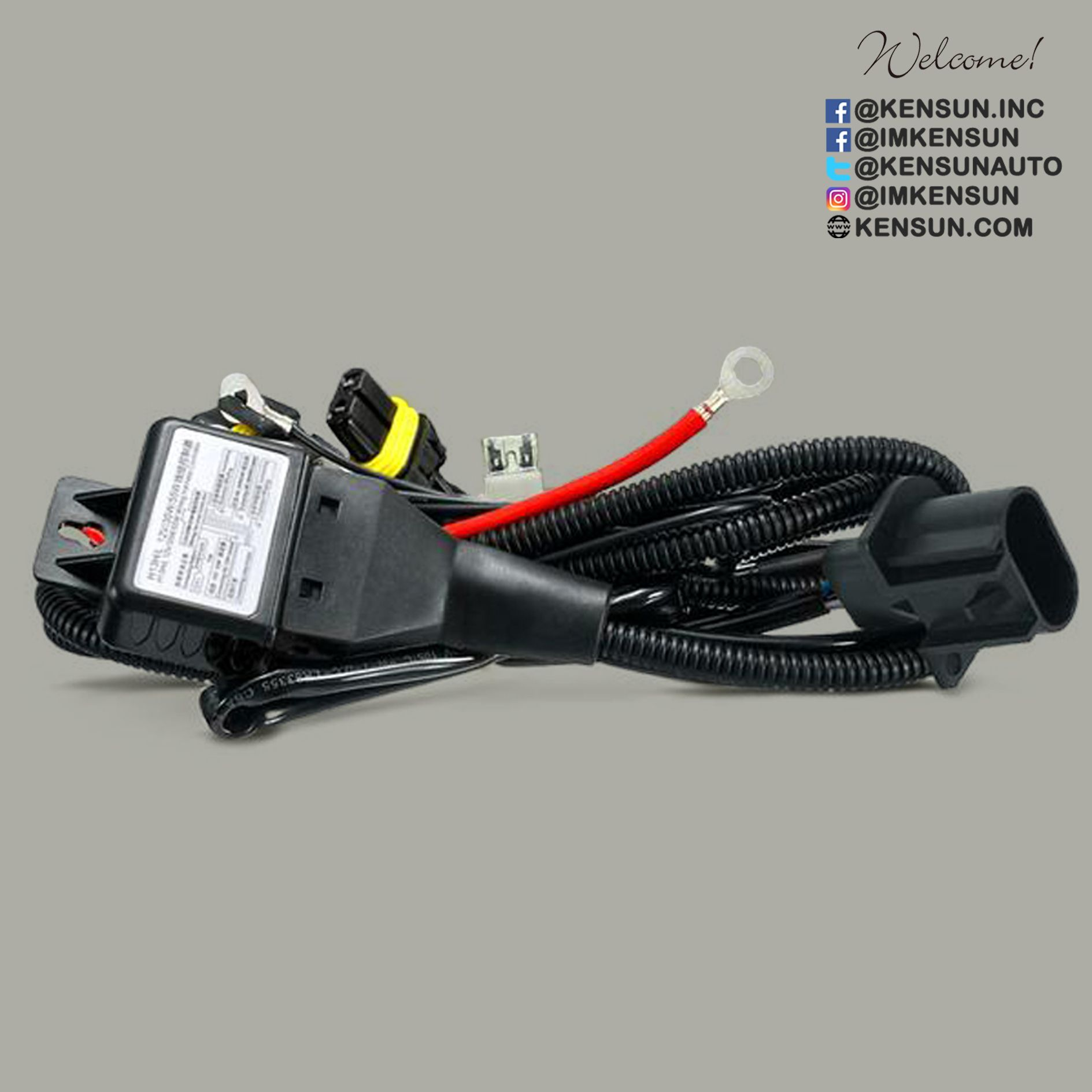 H13 Bi Xenon Relay Harness Serves As A Direct Power Conduit From Car