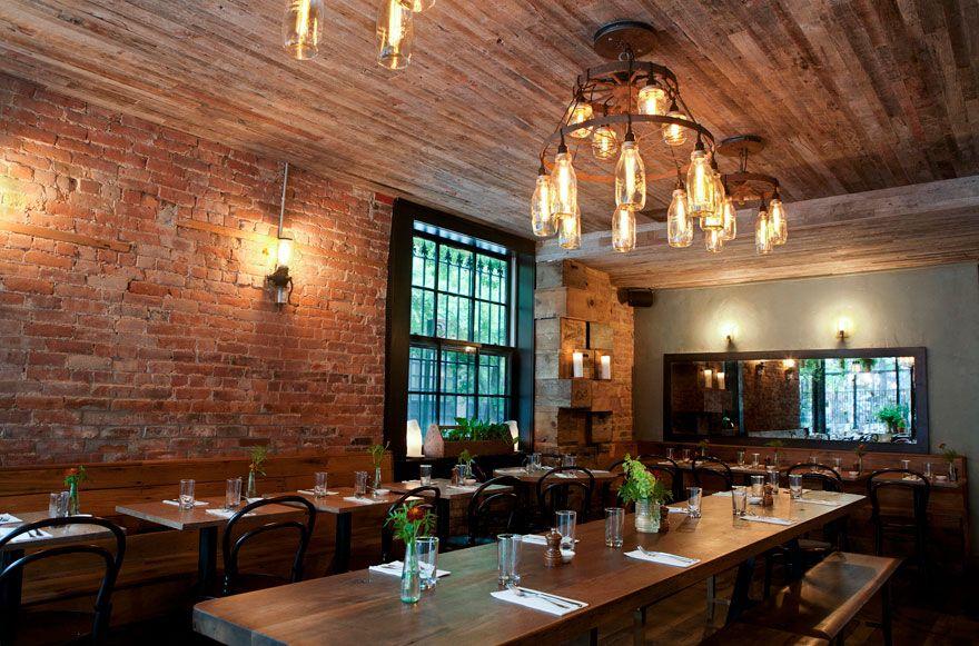 Rucola brooklyn farm to table restaurant design by uhuru