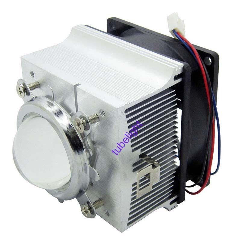 20 100w Led Aluminium Heat Sink Cooling Fan 44mm Lens Reflector