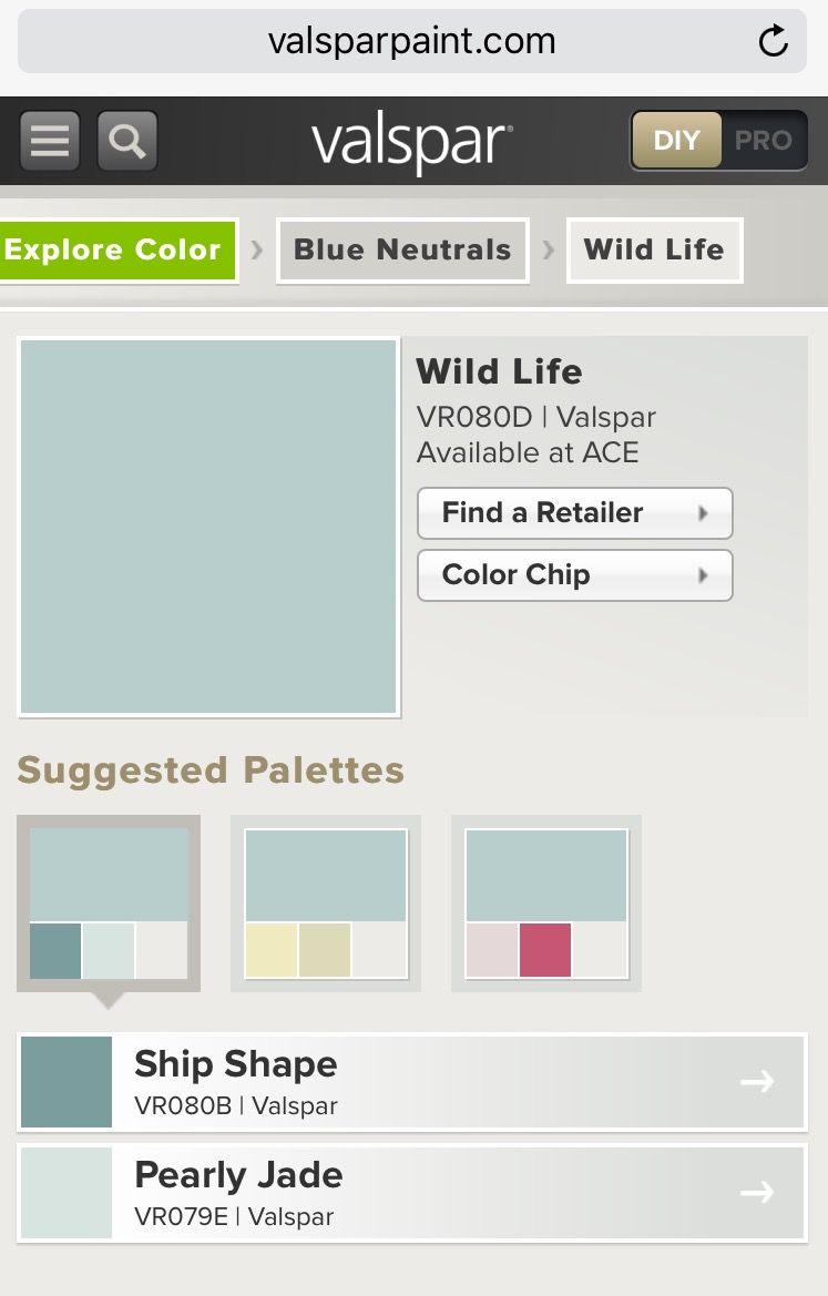 Valspar Wild Life Vr080d Via Ace Hardware Valspar Paint Colors Valspar Perfect Paint Color