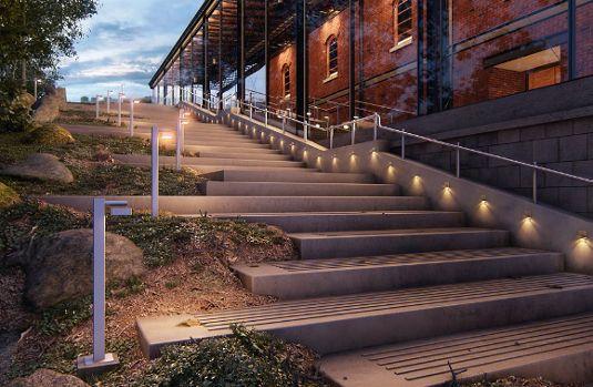 Exterior Step Lighting Google Search Landscape Architecture