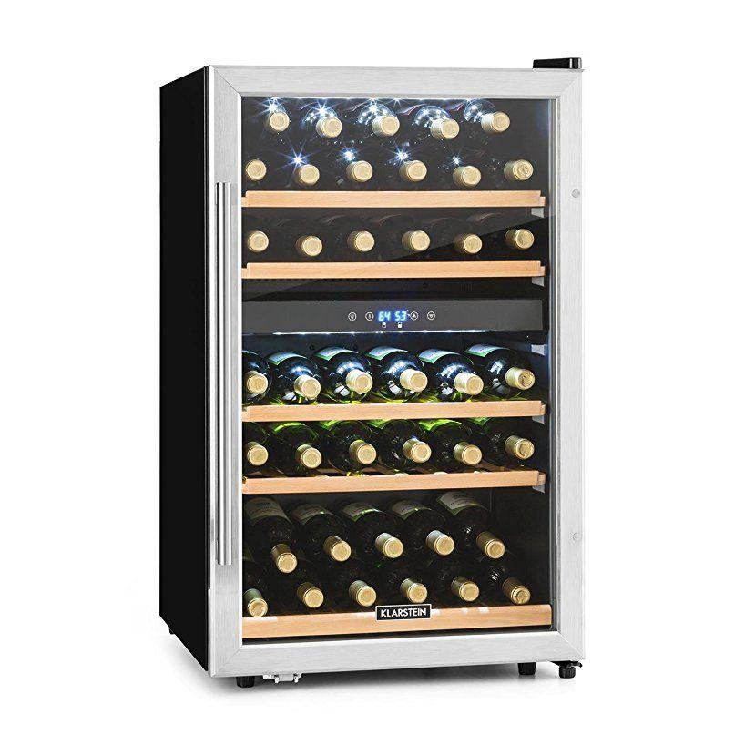 Klarstein Vinamour 40D • Weinkühlschrank • Getränkekühlschrank ...