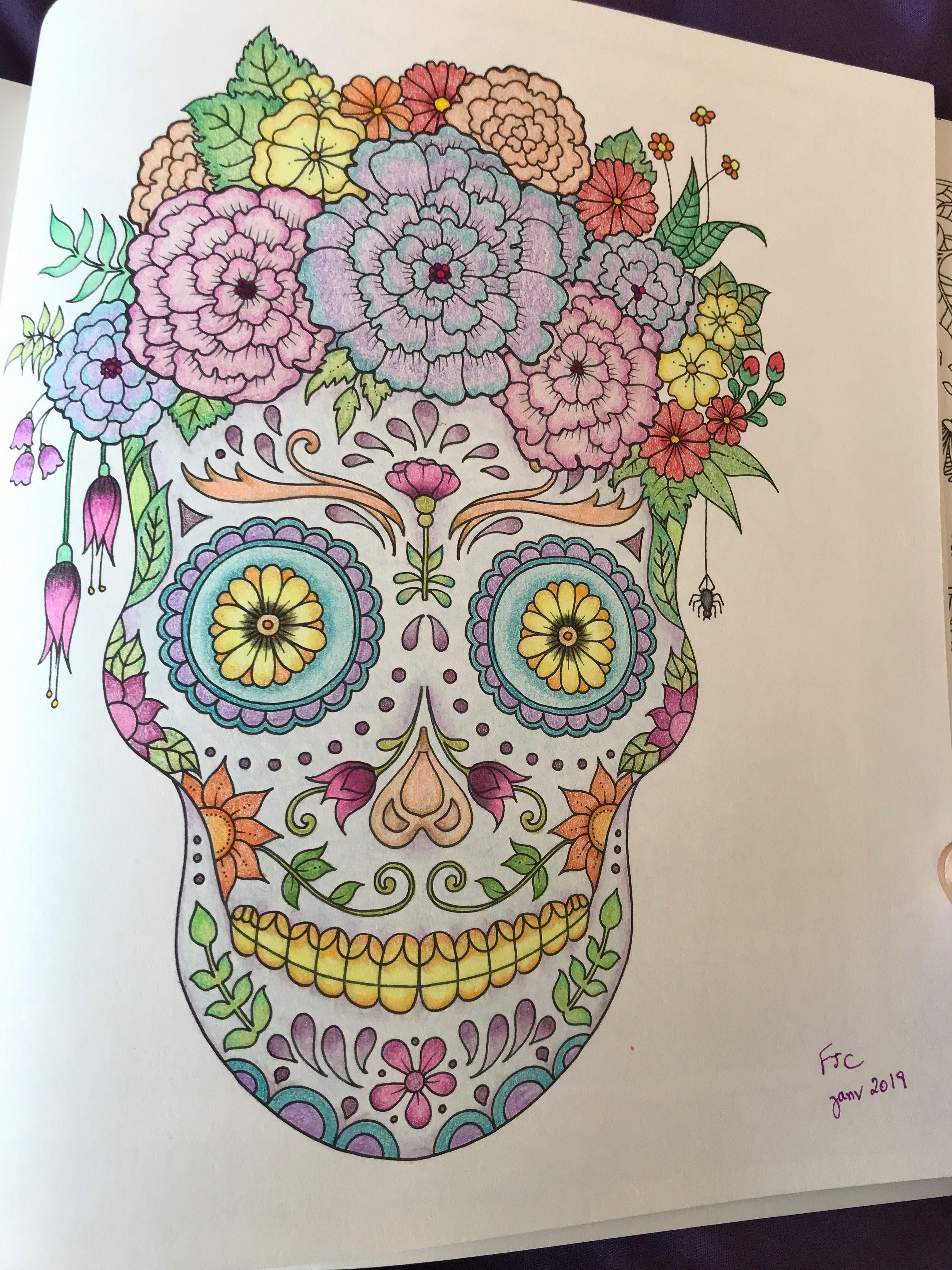 World of flowers by Johanna Basford | Johanna basford ...