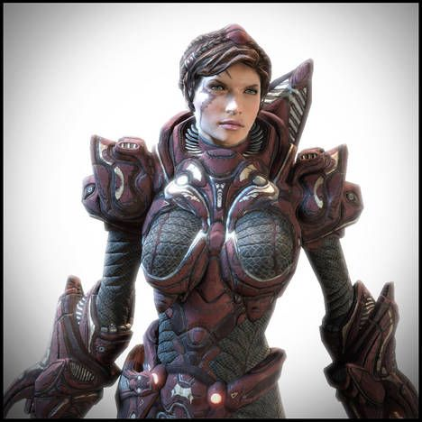 unreal tournament 3 female | Greater is He that is in you, than he