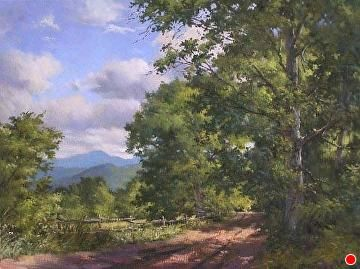 Looking to the North, Middletown Springs, VT by Andrew Orr Oil ~ 18 x 24