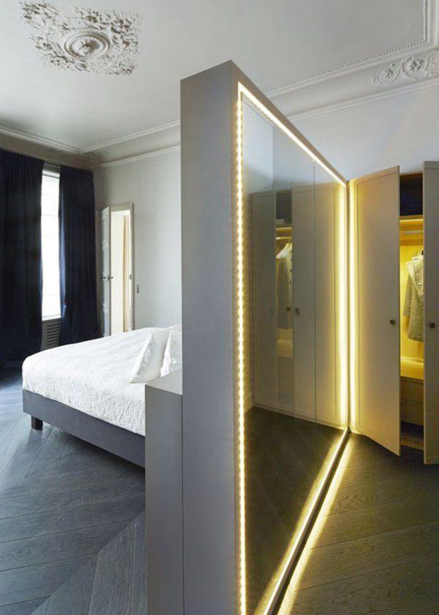 Illuminez Votre Interieur Avec Des Led Amenagement Chambre Decoration Interieure Deco Chambre