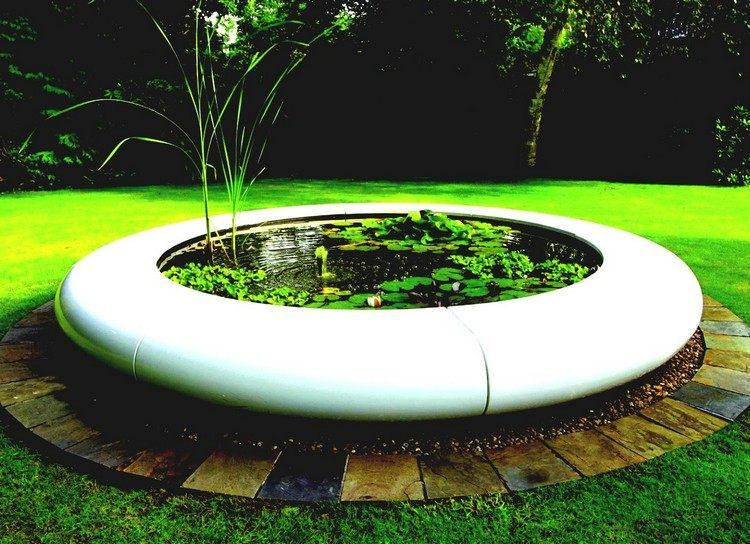 Fontaine extérieure de jardin en 18 idées originales | Fontaine ...