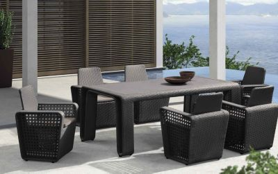 Bronx With Its Modern And Pure Elegance, The Bronx Collection Manifests The  Philosophy Of In U0026 Outdoor Completely. The Exceptional Refinement Of The  Table ...