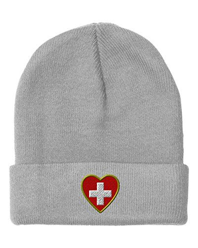 Heart Swiss Flag Embroidery Embroidered Beanie Skully Hat Cap Light Gray - http://todays-shopping.xyz/2016/08/03/heart-swiss-flag-embroidery-embroidered-beanie-skully-hat-cap-light-gray/