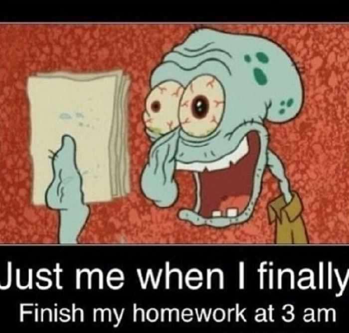 Que significa i do my homework in the afternoon