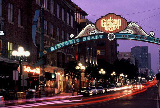 San Diego The Gas Lamp District Has Tons Of Fun Shops And