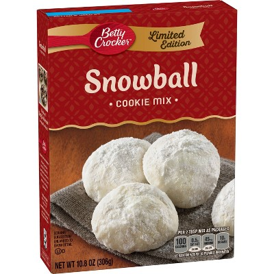 Betty Crocker Snowball Cookie Mix 10.8oz Betty crocker