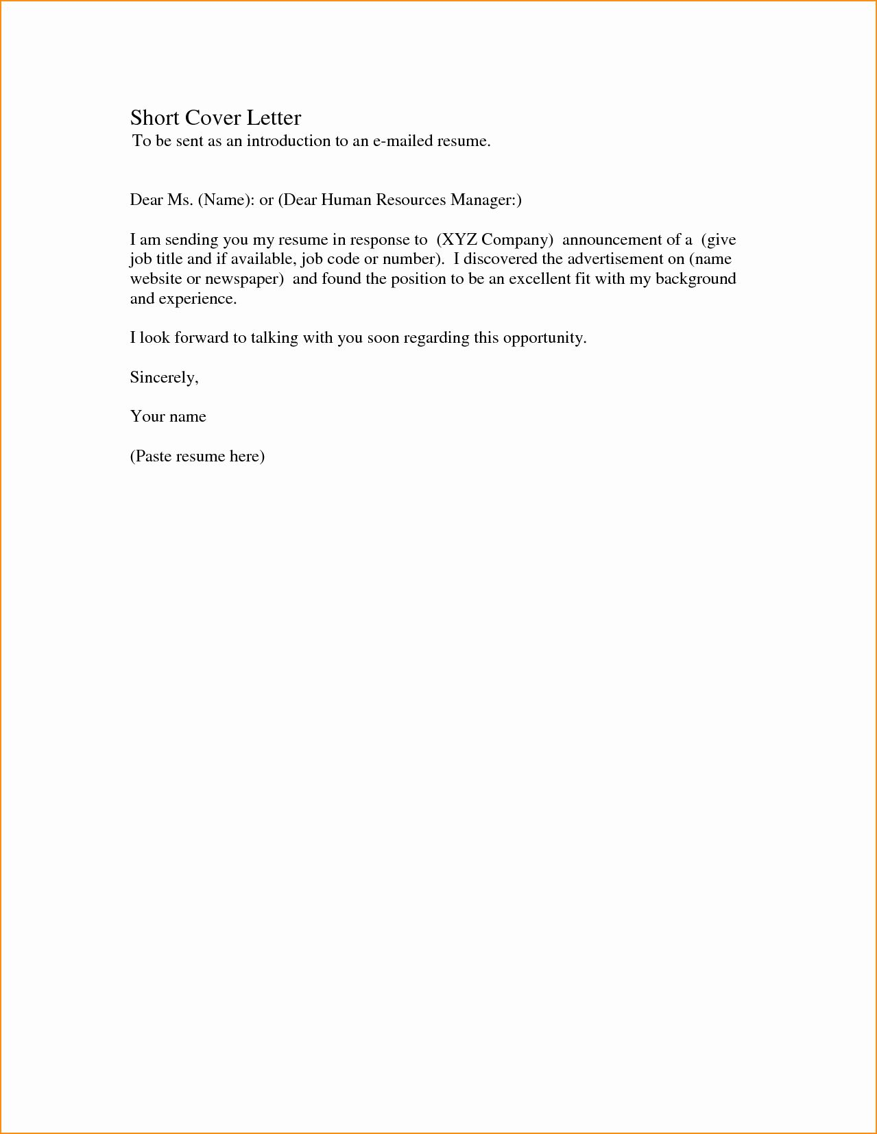 30 Simple Cover Letter For Resume Job Cover Letter Simple Cover Letter Cover Letter For Resume