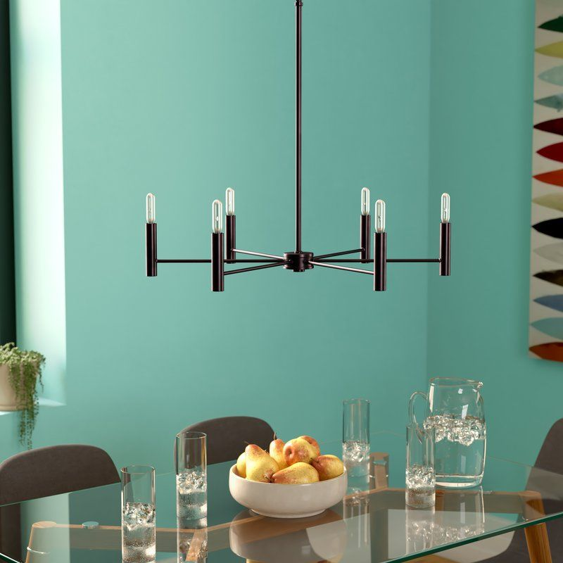 Mcroy 6Light Candle Style Classic / Traditional