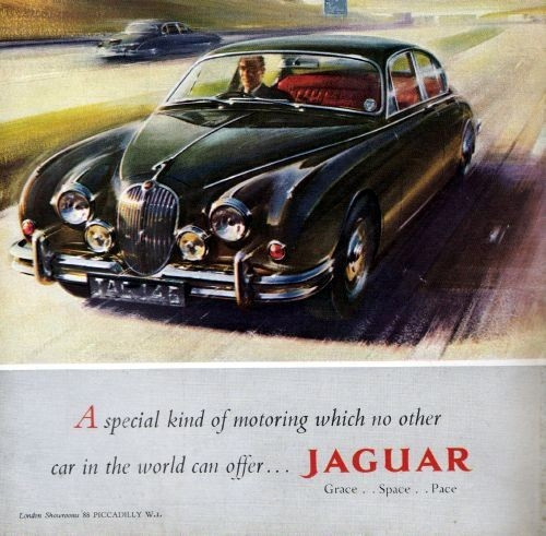 Jaguar San Juan >> 1961 Jaguar Mark II Saloon Original Color Ad | eBay | Jaguar Car Ads | Jaguar daimler, Jaguar ...