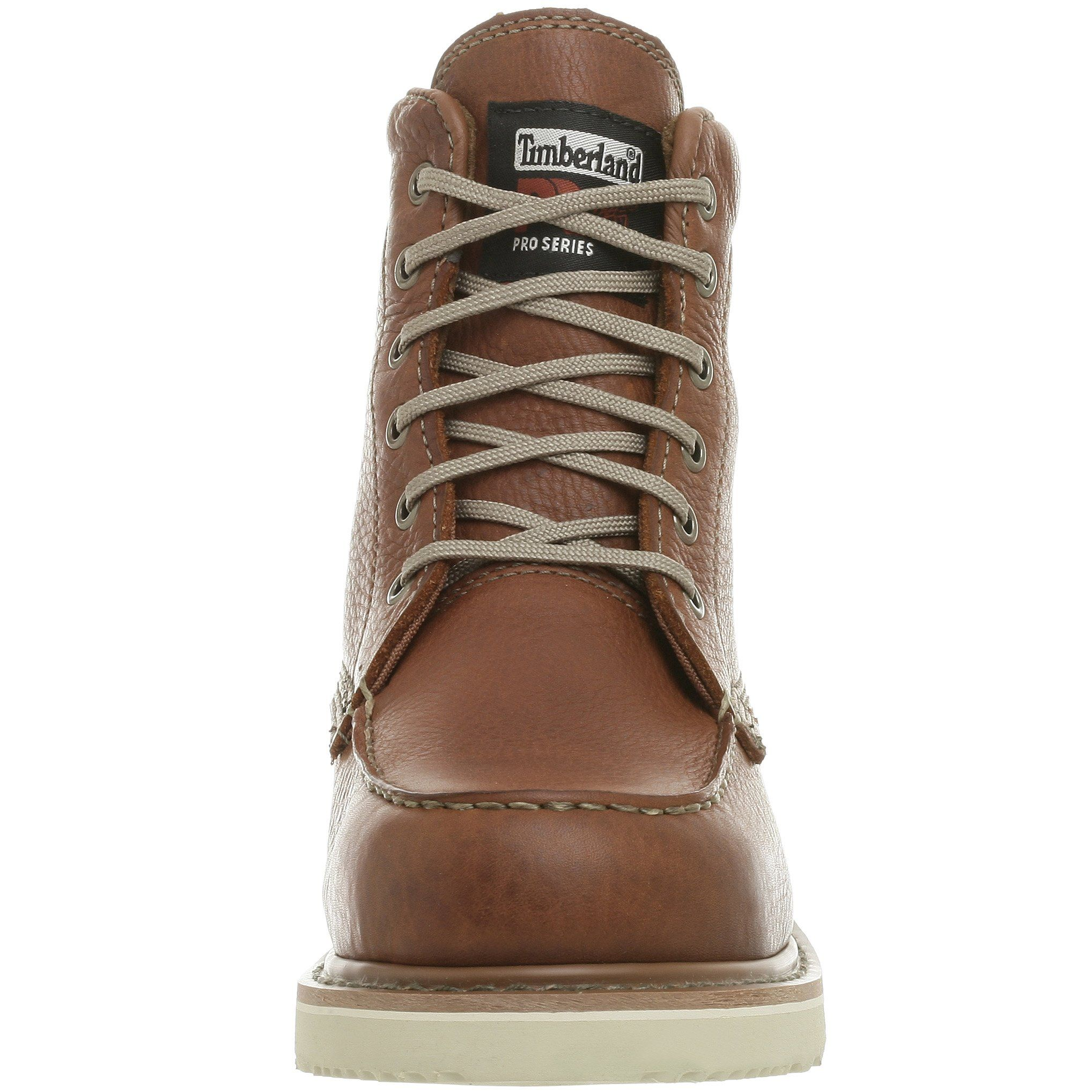 Timberland PRO Mens 53009 Wedge Sole 6 SoftToe BootRust10.5